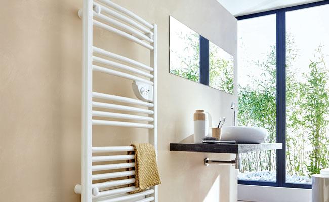 chauffe serviette (installation et vente) - crozat électricité - Chauffage Salle De Bain Seche Serviette